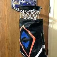 Hamper Hoops kosárlabda szennyestartó